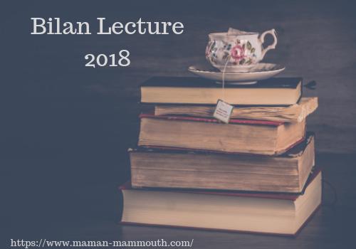 Bilan de lecture 2018