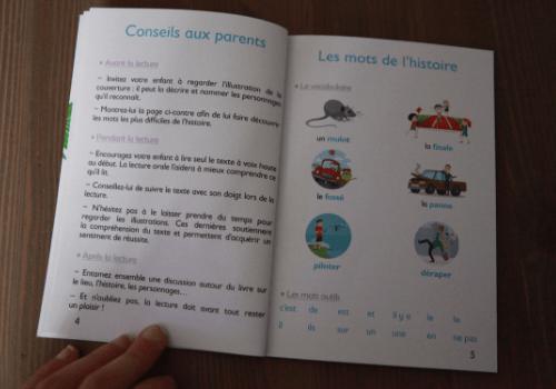 Premières lectures Larousse 100% syllabique