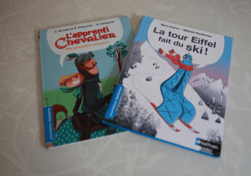 Livres lecture CP Nathan