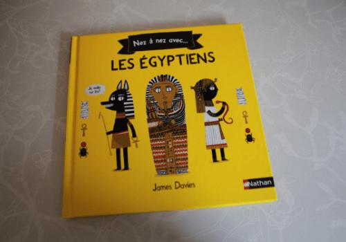 Livre documentaire sur les égyptiens