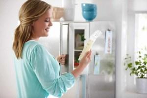 conservation lait maternel frigo