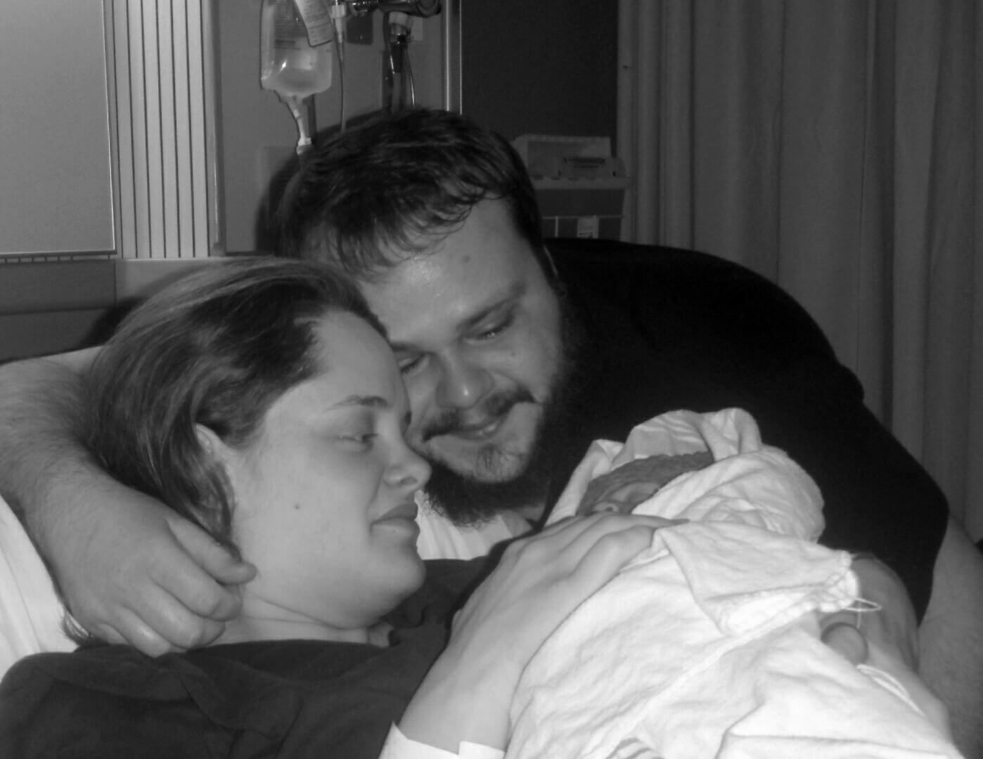 Reading Birth Stories Helped Kelli During Her Hospital