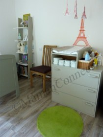 chambre bebe table a langer