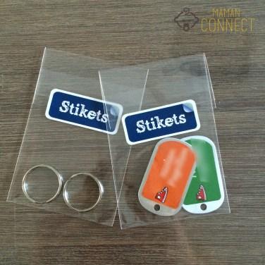 etiquette bagage stikeEtiquette bagage Stiketsts