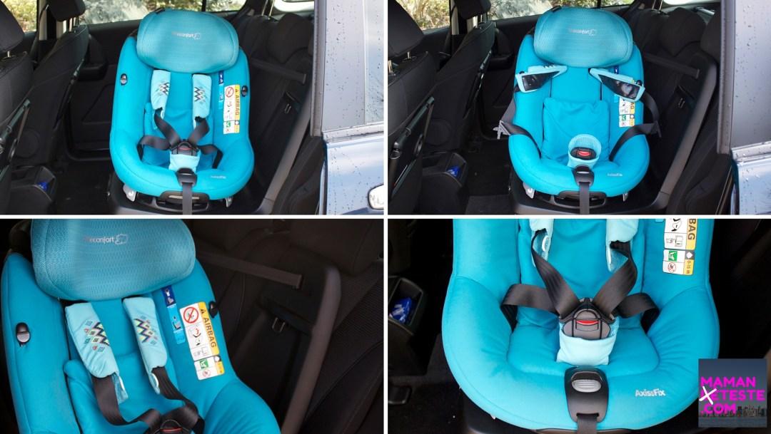 test avis siège auto axissfix bébé confort maman déteste