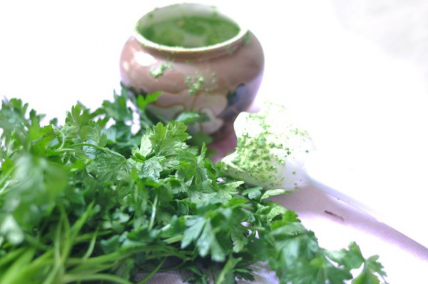 Magical Use of parsley