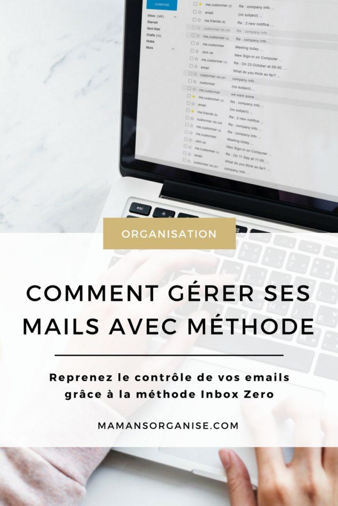 Découvrez comment ne plus vous laisser déborder par vos mails et reprendre le contrôle de votre boîte de réception grâce à la méthode Inbox Zero en cliquant ici.