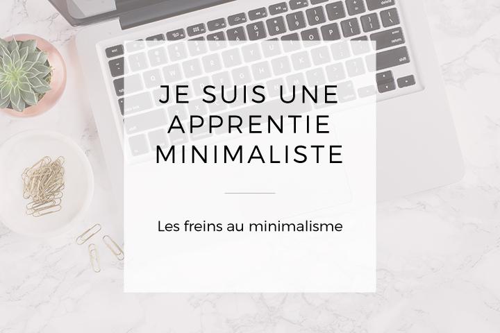 Je suis une apprentie minimaliste
