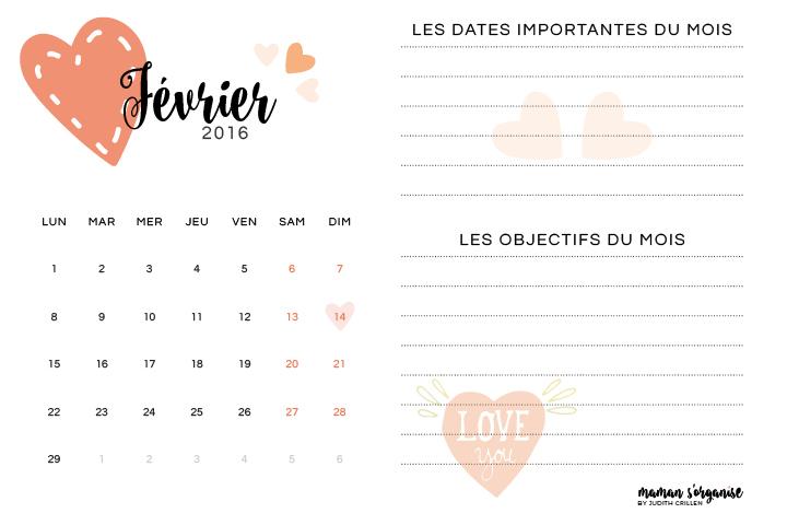 Cliquez ici pour télécharger votre calendrier de février 2016