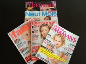 La revue de presse des Mamans (octobre 2014)