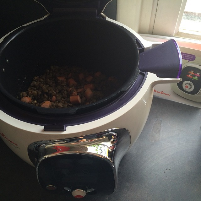 lentilles-saucisses-cookéo