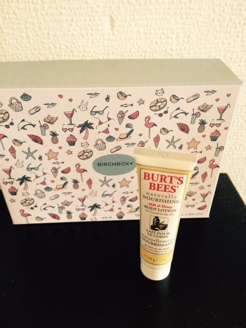 burt's bee Birchbox