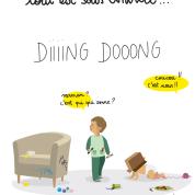 Humour et bébé : 8 trucs à éviter quand on est invité chez des jeunes parents