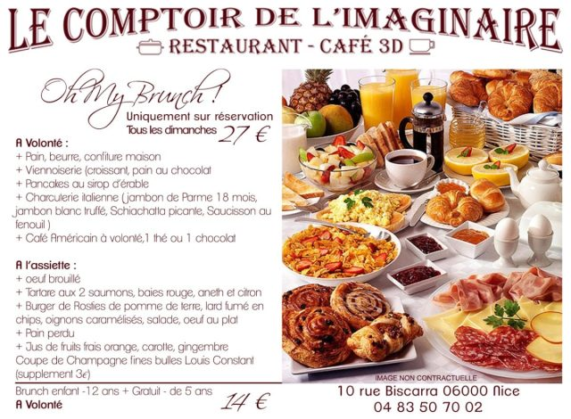 brunch comptoir de l'imaginaire