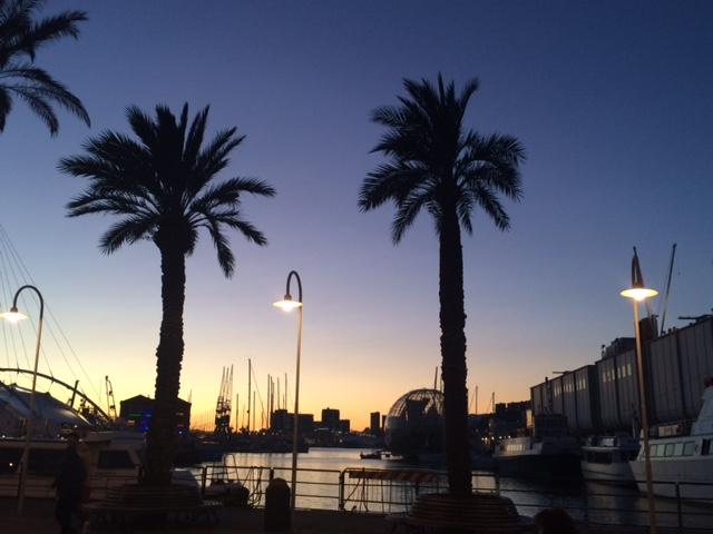 Voyage en famille - Holiday Inn Genoa
