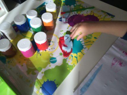 peinture crayola 3 ans