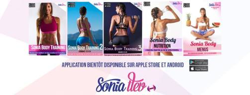 application sonia body training