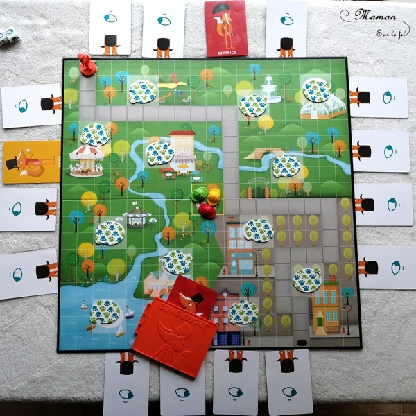 Avis du jeu Nom d'un renard de Game Factory - Jeu coopératif d'enquête autour des renards et des poules - à partir dde 5 ans - jeu de déduction- indices, suspects - Test jeu de société enfants - maternelle et élémentaire - mslf