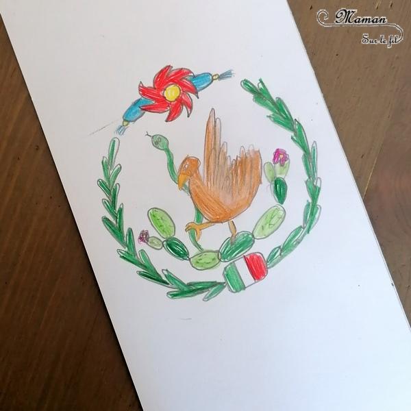 Activité créative enfants - Reproduire le drapeau mexicain en encre au marteau et dessin - Motricité fine - Technique ludique - Coloriage - Crayon de couleurs - Créativité - Amérique du Nord et Mexique - Découverte d'un pays - Espace et géographie - arts visuels et atelier maternelle et Cycle 1 et 2 - Eté - mslfActivité créative enfants - Reproduire le drapeau mexicain en encre au marteau et dessin - Motricité fine - Technique ludique - Coloriage - Crayon de couleurs - Créativité - Amérique du Nord et Mexique - Découverte d'un pays - Espace et géographie - arts visuels et atelier maternelle et Cycle 1 et 2 - Eté - mslf