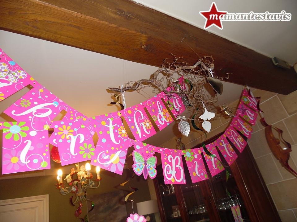 organisation anniversaire enfant