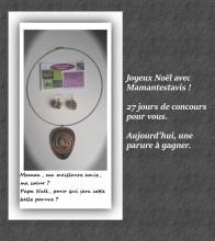 concours de noël bijoux capsules