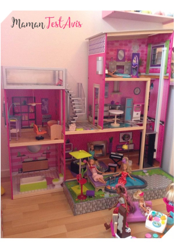 Maison Barbie Kidkraft