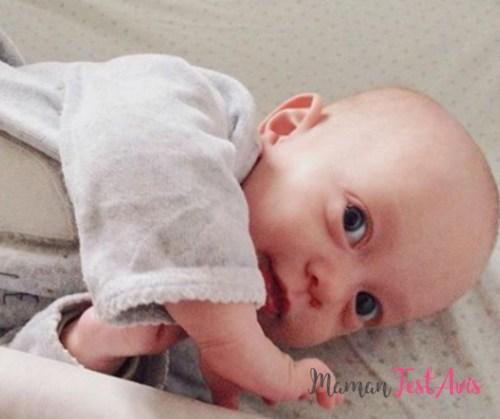 douleurs au ventre bébé