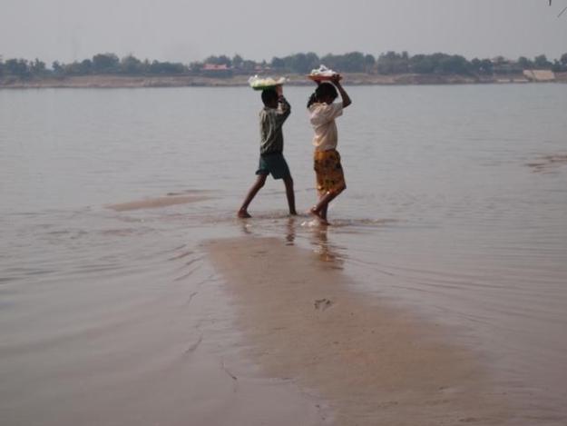 Mekong île de la soie