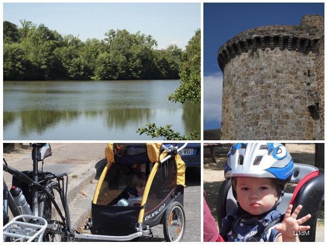 Balade en vélo dans la vallée de Chevreuse