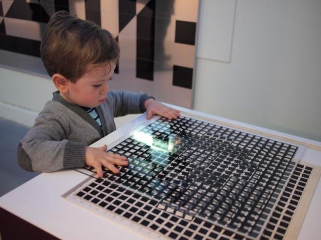 Vasarely au Musée en Herbe