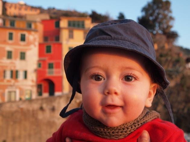 Idée voyage avec bébé : Les Cinque Terre