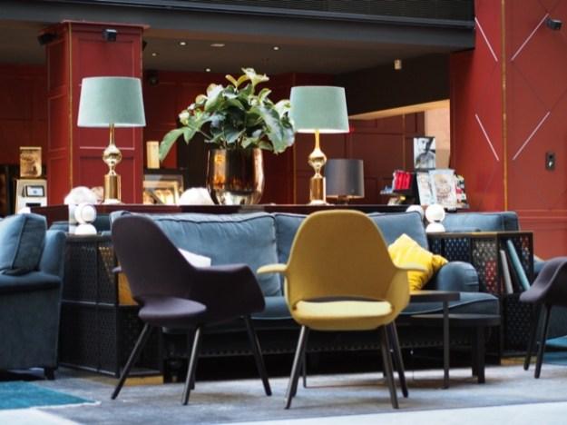 L'hôtel Scandic Grand Central à Stockholm