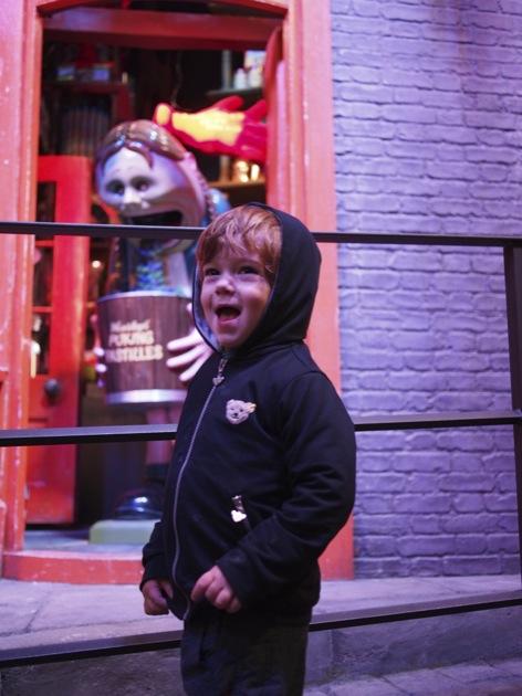A Londres, chez Harry Potter