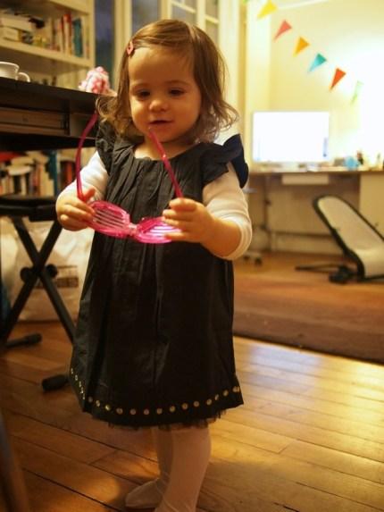 A 22 mois Titpuce joue la fashion victim