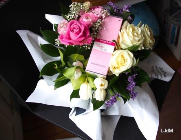 Des fleurs et un parfum pour une belle Saint-Valentin !