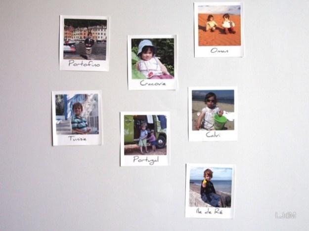 Mes photos de voyage envahissent les murs de la maison !