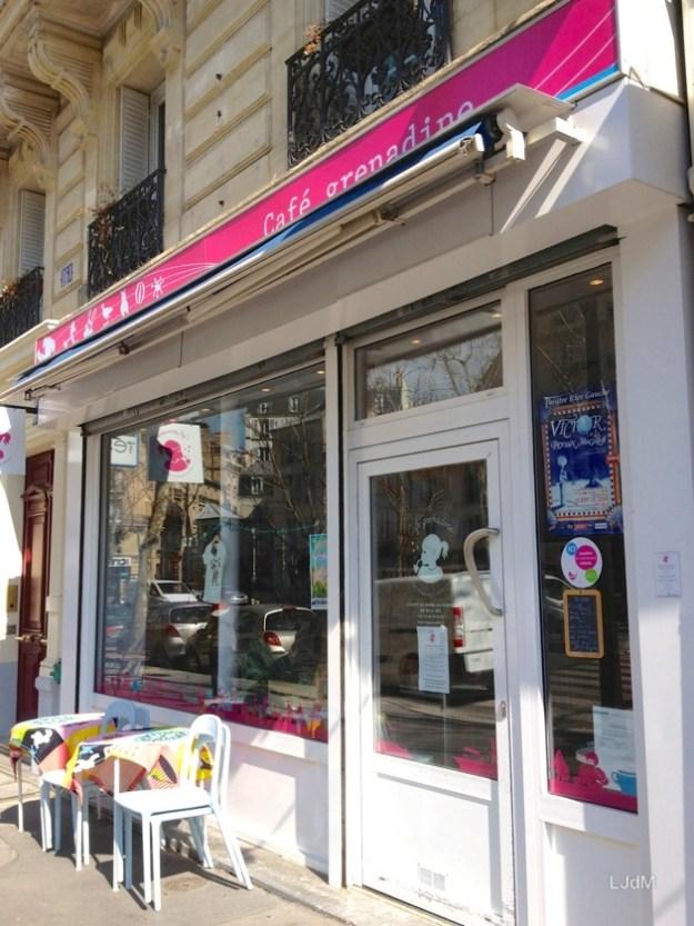 Le Café Grenadine : un café kid friendly à Paris