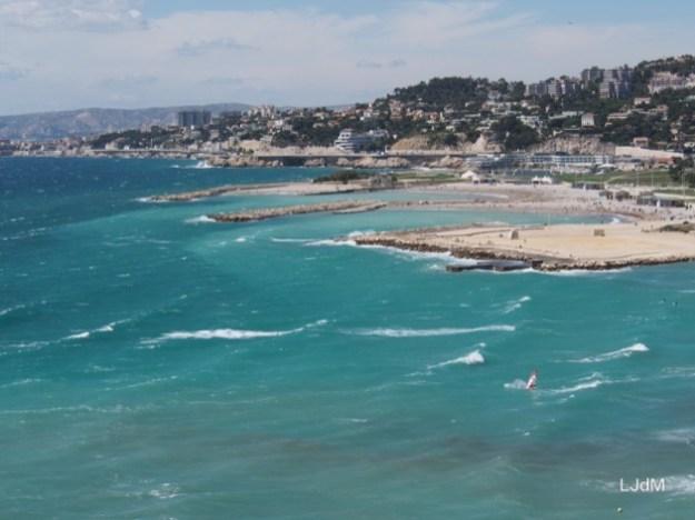 Arrivée à Marseille !