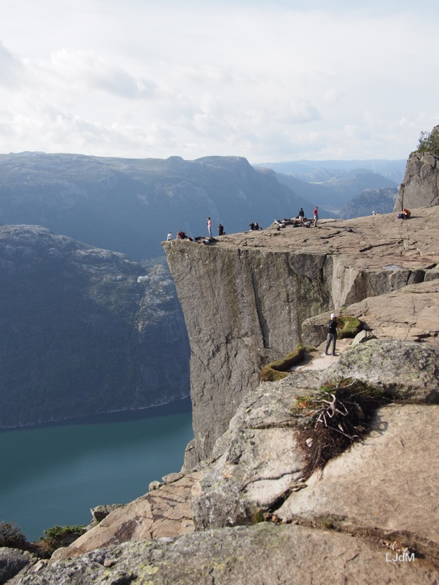 Le plus célèbre point de vue de Norvège : le Preikestolen