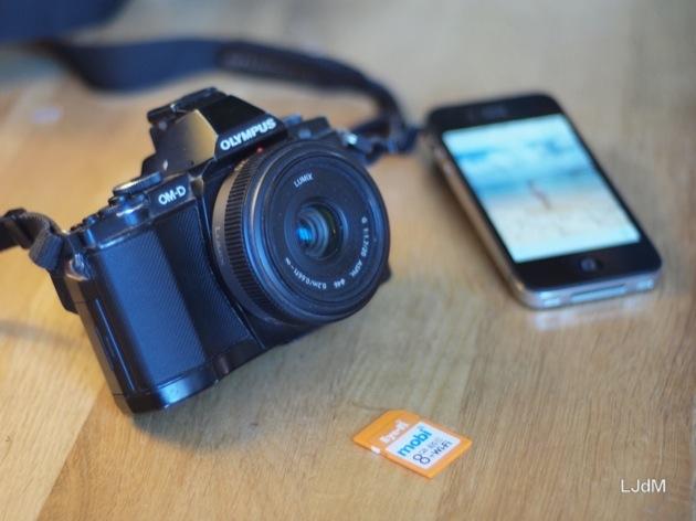 J'ai testé la carte SD Eye-Fi Mobi pour mes photos