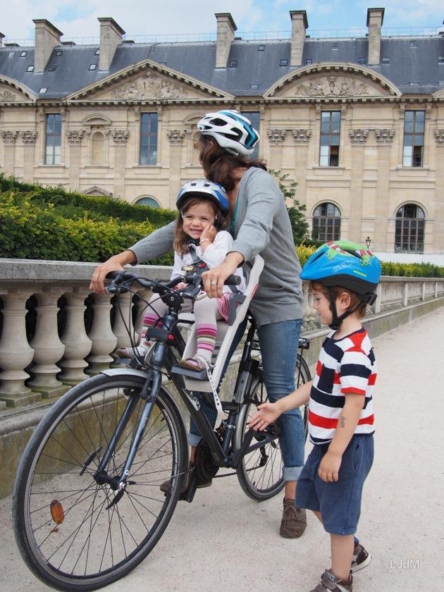 Un nouveau siège-vélo enfant dans notre famille !