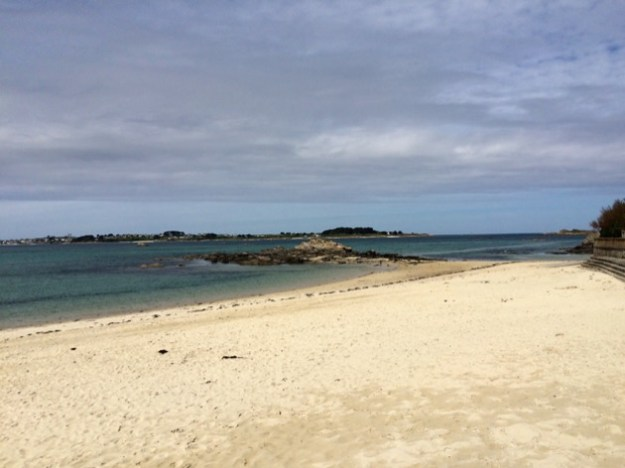 plage de Rockroum à Roscoff