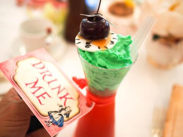 Cocktail Alice aux pays des Merveilles
