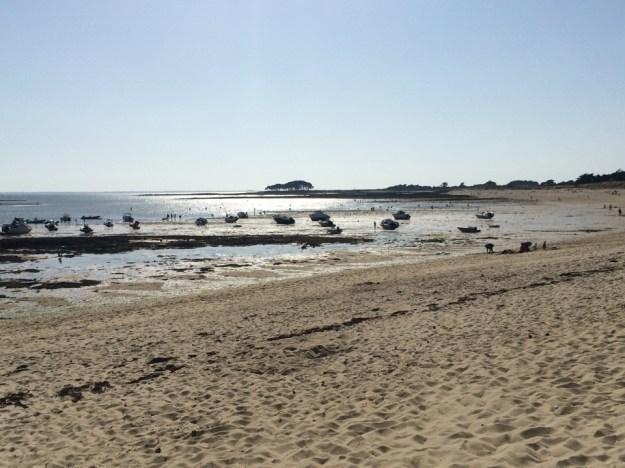 plage de Locmariaquer