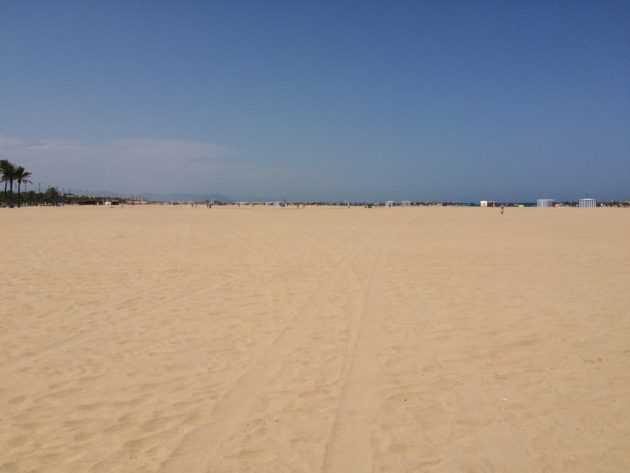 plage de Valencia