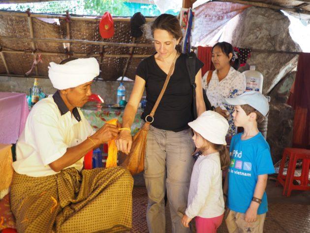 Myanmar en famille