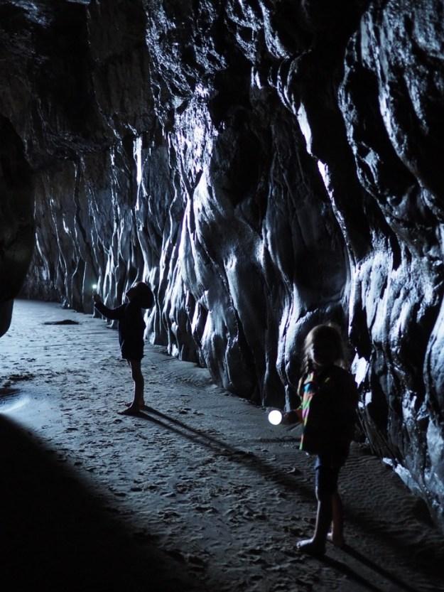Cathedral Cave en famille