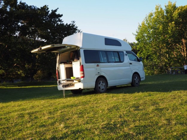 voyager en campervan en famille