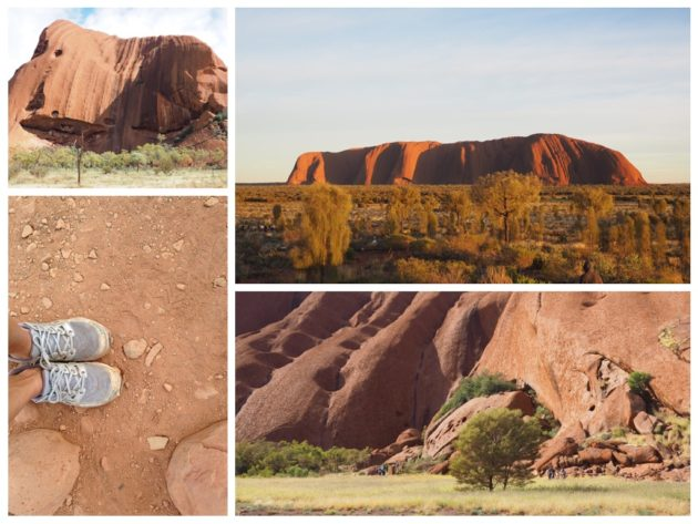 footing ayers rock