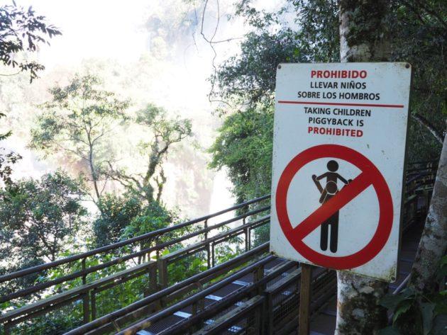 visiter Iguazu avec enfants